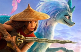 Raya & the Last Dragon - at the BECU Drive-in Movies at Marymoor Park