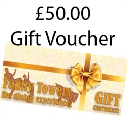 £50 Faulty Towers Gift Certificate