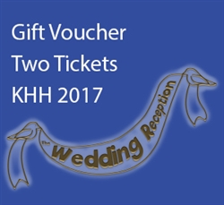 Kingsway Hall Hotel: 2 tickets for The Wedding Reception