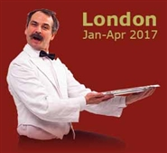 Faulty Towers in London's West End, Torquay Suite Theatre: Jan-Apr 2017