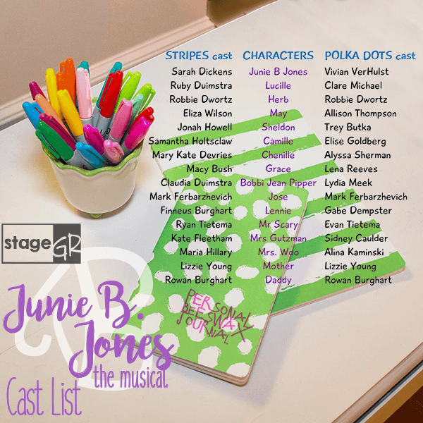 stageGR presents: Junie B  Jones the Musical
